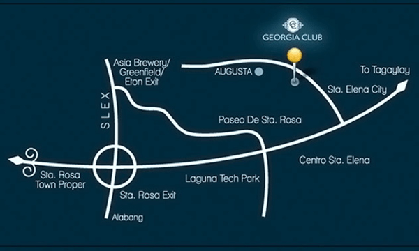Vicinity Map Sta. Rosa