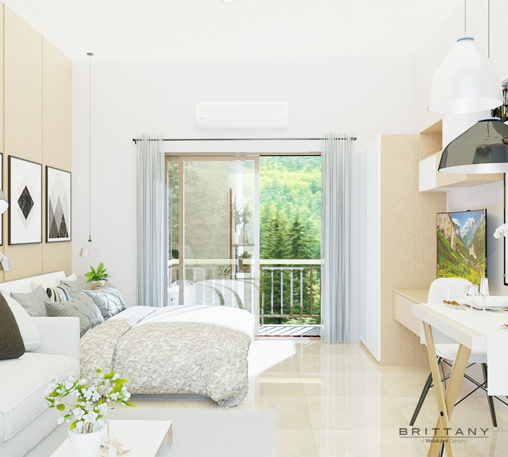 Studio Unit with Balcony | Crosswinds Tagaytay | Alpine VIllas | Luxury Homes by Brittany Corporation