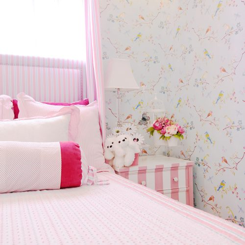 Allison Ready Home Pink Kiddie Bedrooms | Brittany Sta. Rosa | Augusta | Luxury Homes by Brittany Corporation