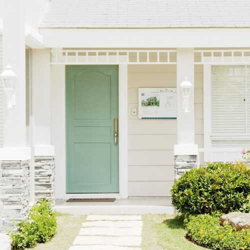Allison Ready Home Porch and Doorway | Brittany Sta. Rosa | Augusta | Luxury Homes by Brittany Corporation