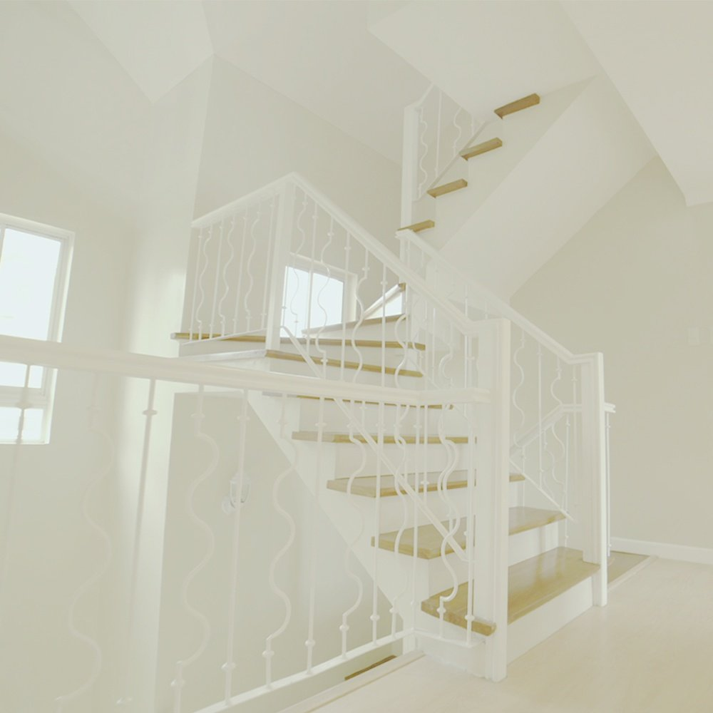 Carolyn Luxury House Model Staircase Leading into Attic | Brittany Sta. Rosa | Georgia Club | Luxury Homes by Brittany Corporation