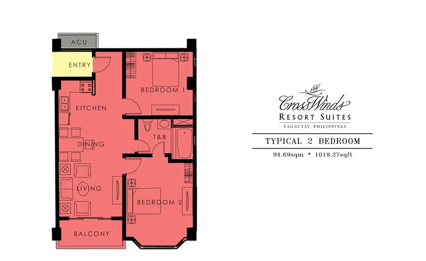 Grand Quartier III 2 Bedroom