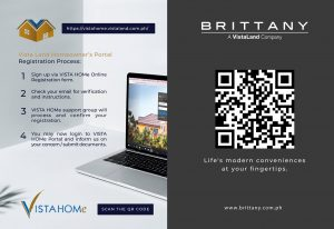 Vista Home Homeowners Portal Sign Up Process - Luxury Homes by Brittany Corporation