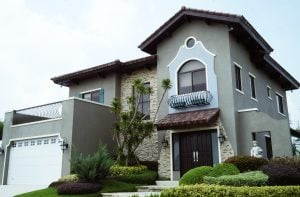 A grey and stone themed Italian-inspired luxury house and lot | Vista Alabang | Portofino | Luxury Homes by Brittany Corporation
