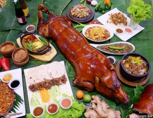 Filipino Noche Buena Meal | Luxury Homes by Brittany Corporation