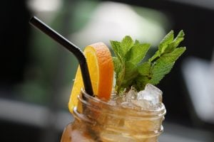 Mango Iced Tea refreshments you can make at your luxury house - Brittany Corporation