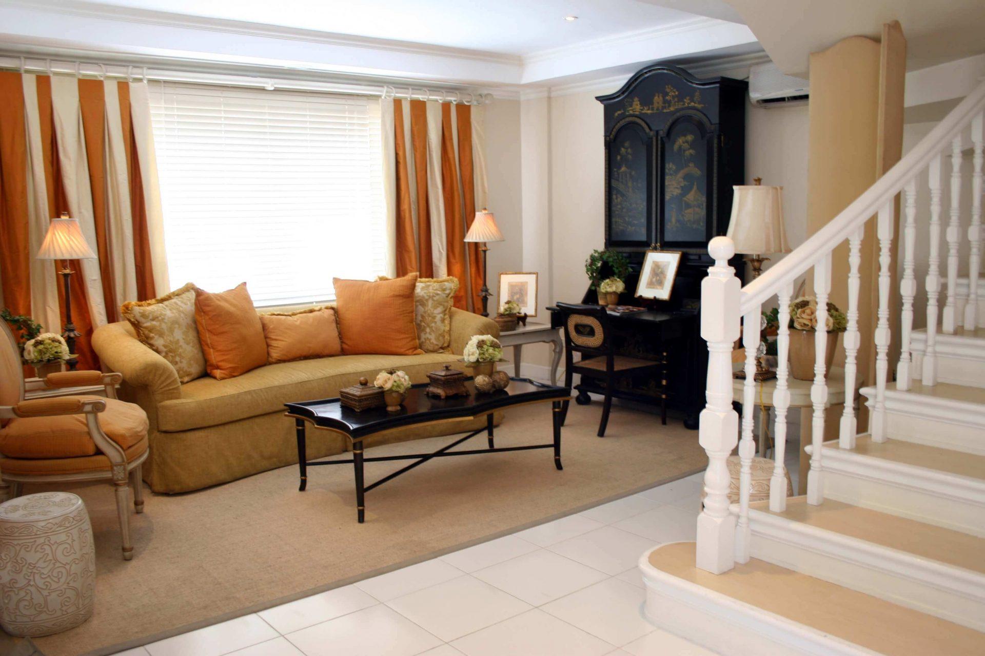 Quadrille Living Room