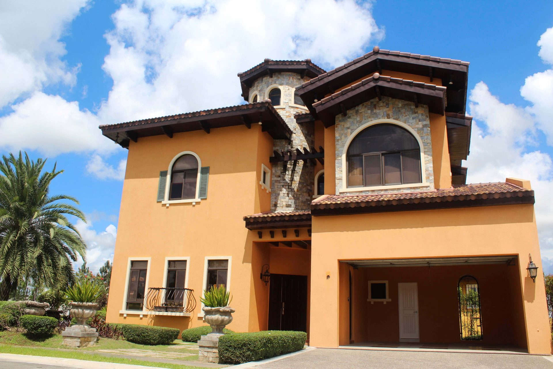 Vista Alabang | Portofino Heights | Rafaello House Model Facade 2 | Luxury Homes by Brittany Corporation