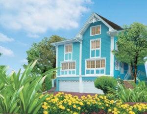 Vista Alabang | La Posada | Quadrille House Model Facade | Luxury Homes by Brittany Corporation