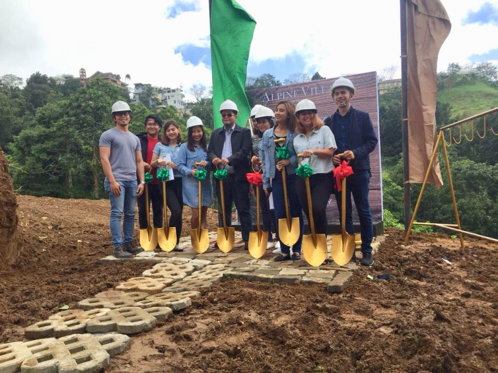 Alpine Villas groundbreaking in Crosswinds