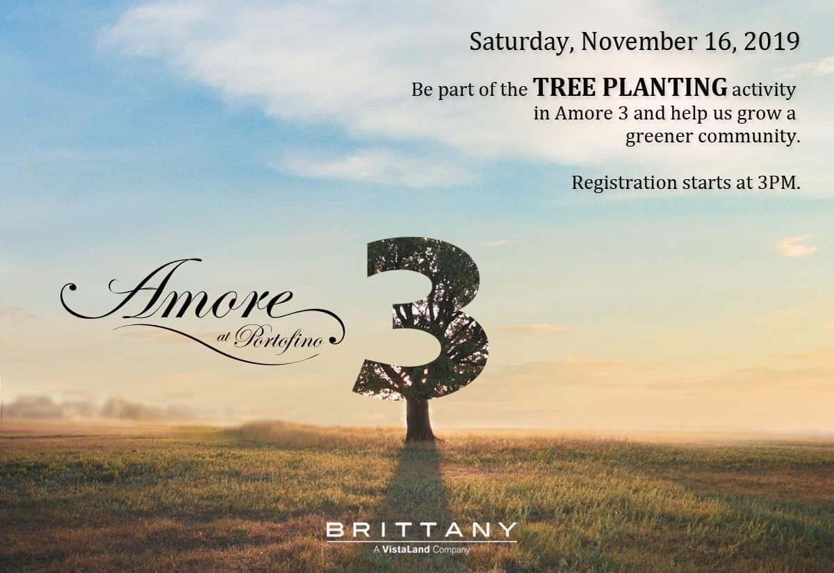 Amore 3 planting event