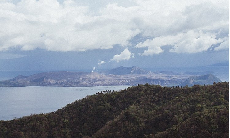 A view of Taal Volcano   Luxury Homes by Brittany Corporation