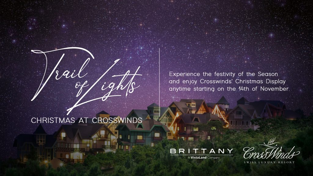 Brittany's Trail of Lights Christmas Display at Crosswinds Tagaytay | Luxury Homes by Brittany Corporation