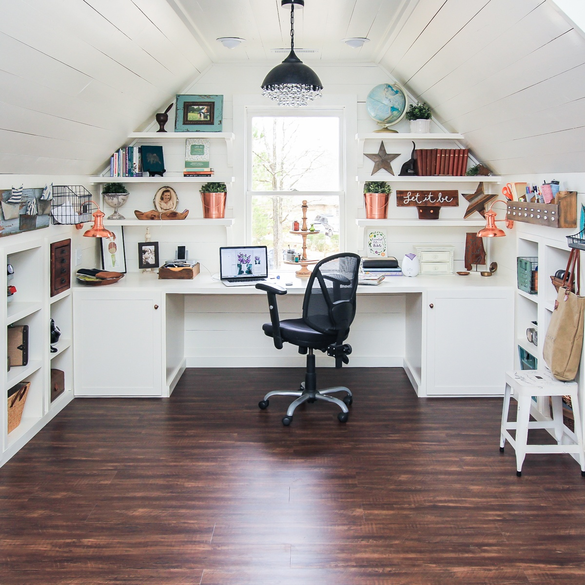 Home Renovation Ideas by Portofino Convert Your Attic to an Office Space 2