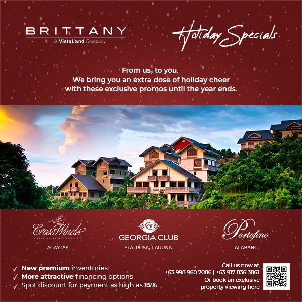 Brittany-Promo-Ad-600X600--Holiday-Specials | Luxury Homes by Brittany Corporation