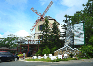 Bern Windmill Christmas at Crosswinds Tagaytay | Luxury house and lot in Tagaytay | Luxury Homes by Brittany Corporation