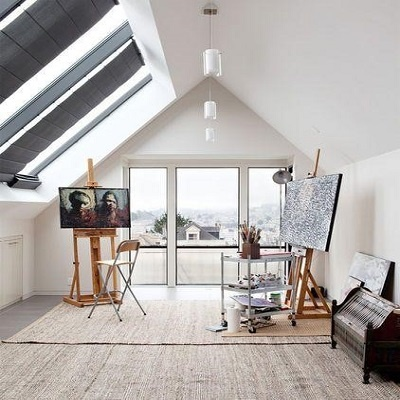 Brittany-Creative-Ways-to-Set-Up-Your-Own-Art-Studio-At-Home-6