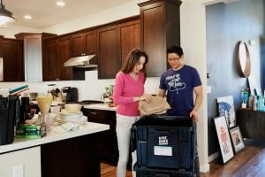 Interracial couple moving into their new luxury house | Luxury Homes by Brittany Corporation