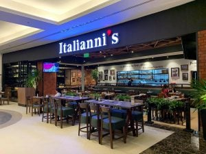 Italiannis dining experience at Evia Lifestyle Center in Daang Hari near Portofino in Vista Alabang - Luxury Homes by Brittany