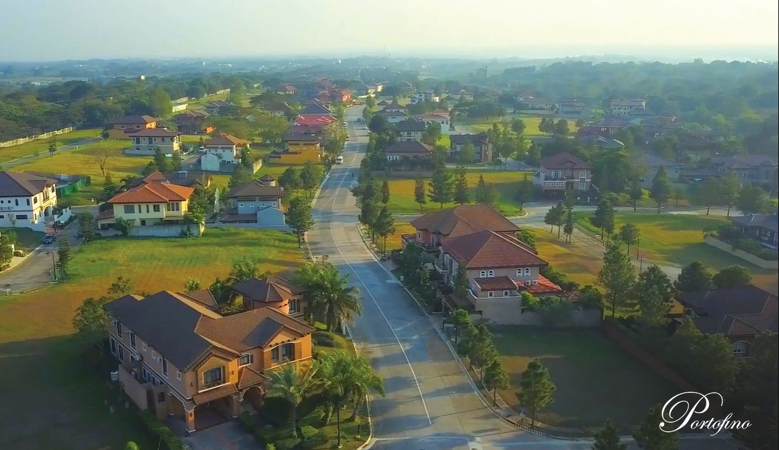 Vista Alabang | Portofino Heights | Drone Shot | Luxury Homes by Brittany Corporation