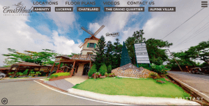 360 Virtual tour of Crossswinds Luxury Swiss Resort in Tagaytay, perfect for buying luxury real estate online - Luxury Homes by Brittany
