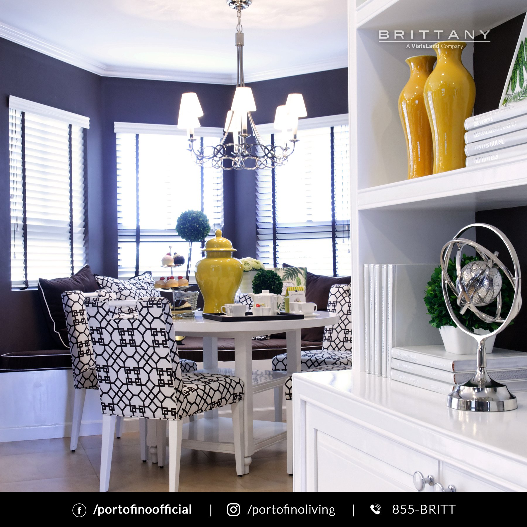 Antonello Luxury House Model Interior Lounge - Luxury Homes by Brittany