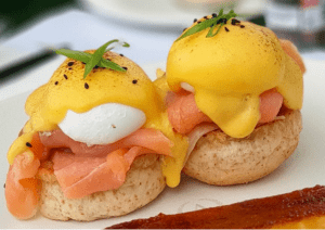 Breakfast at Antonios restaurant in Tagaytay near luxury house and lot properties in Crosswinds Tagaytay - Luxury Homes by Brittany Corporation