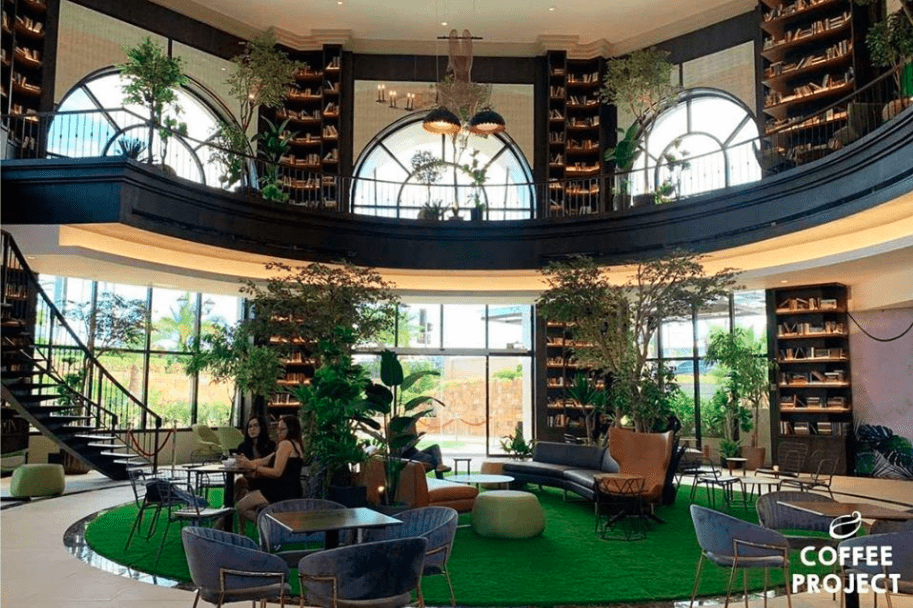Coffee Project Black in Evia Lifestyle Center most innovative cafe in the metro near luxury house and lot properties of Portofino in Vista Alabang - Luxury Homes by Brittany Corporation