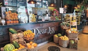 Dear Joe Cafe is a letter writing cafe and the best restaurant in the metro in Vista Mall Daang Hari near luxury house and lot properties of Portofino in Vista Alabang - Luxury Homes by Brittany Corporation