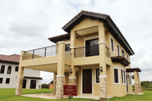 Italian living at the Lorenzo RFO Luxury house model at Portofino in Vista Alabang - Luxury house and lot for sale in Daang Hari - Luxury Homes by Brittany