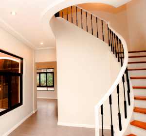 Staircase Interior photo of the Raphael Luxury house model at Portofino in Vista Alabang - RFO Luxury house and lot for sale in Daang Hari - Luxury Homes by Brittany
