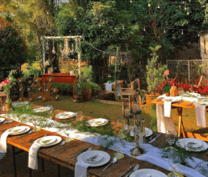 The Purple Owl restaurant in the metro with outdoor dining set up in Tagaytay near luxury property Crosswinds Tagaytay - Luxury Homes by Brittany Corporation