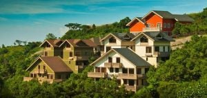 The beautiful view of Crosswinds Tagaytay's luxury development | Luxury Homes by Brittany Corporation