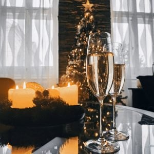 White wine for a fine dining experience in a luxury home by Brittany Corporation
