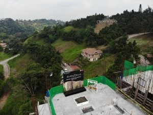 Topping-off ceremony of the Bernese building at Alpine VIllas in Crosswinds Tagaytay | Luxury Homes by Brittany Corporation