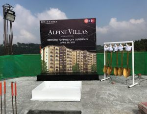 Alpine Villas Luxury Condo in Tagaytay Topping-Off Ceremony | Luxury Homes by Brittany Corporation