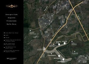 Brittany Sta. Rosa vicinity map - House and lot for sale - Luxury homes by Brittany