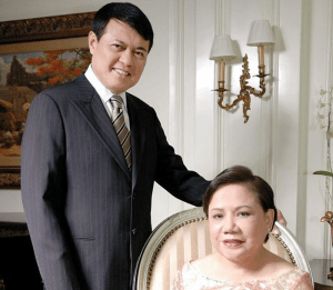 Chairman and founder of Vista Land, Manny Villar, and his wife, Cynthia VIllar, have one of the longest lasting high-profile marriages in the Philippines | Luxury Homes by Brittany Corporation