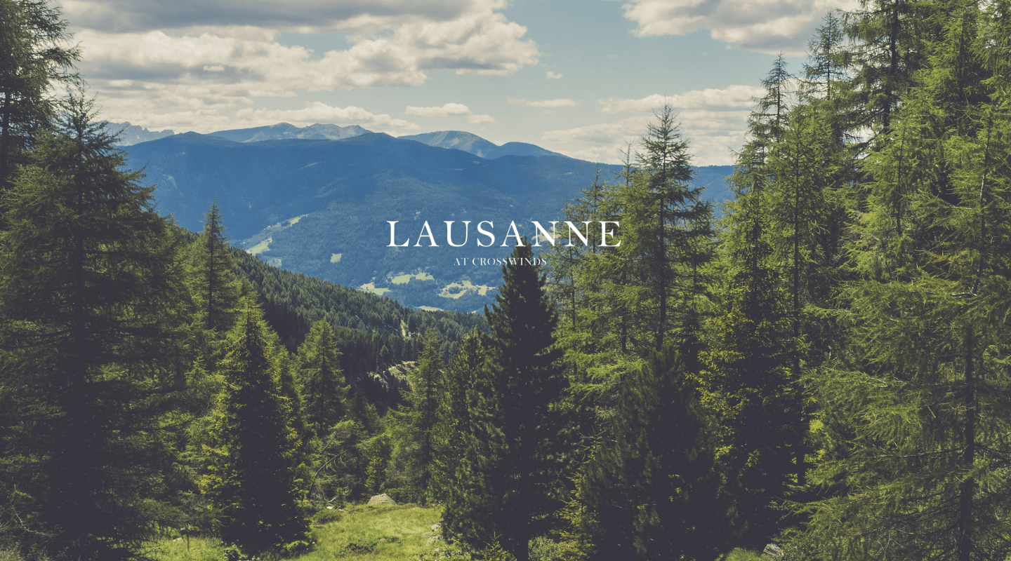 Lausanne at Crosswinds - Luxury Lots in Tagaytay - Lots for Sale