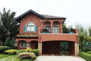 Orange Italian-inspired luxury home near Alabang | Luxury Homes by Brittany Corporation
