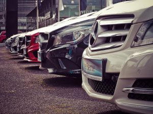 Luxury cars in their parking slot in their luxury condos - Luxury homes by Brittany
