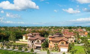 The 600-hectare development of Brittany Vista Alabang which houses multiple luxury lots-only offerings as well as luxury homes