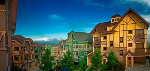 The idyllic Swiss scenery of the luxury homes of Crosswinds Tagaytay by Brittany Corporation