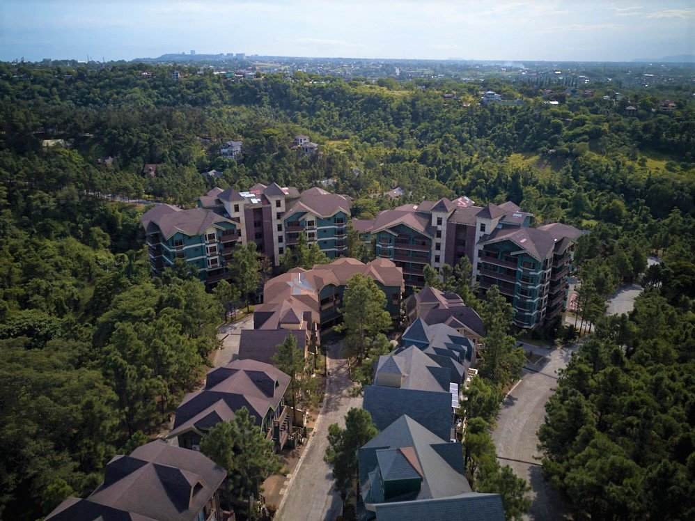 Aerial view of Crosswinds Tagaytay house and lot for sale developments in Tagaytay - Luxury Homes by Brittany