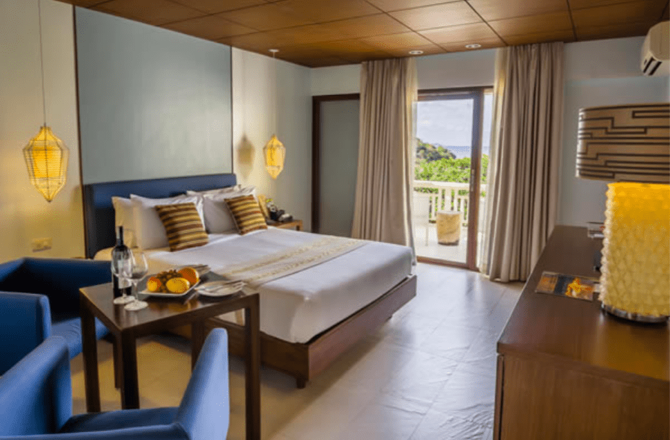 Club Punta Fuego rest house bedroom - Vacation Spots in the Philippines - Brittany Corporation