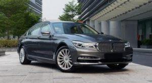 Dark Grey BMW 7 Series 740Li Luxury Cars Brittany Corporation