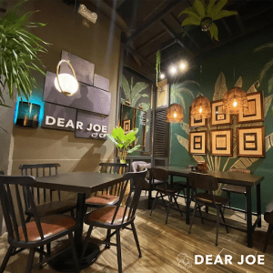 Dear Joe is one of the new spots to visit in Evia Lifestyle Center | Luxury Homes for Sale in the Philippines by Brittany Corporation