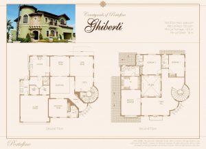 Ghiberti Floor Plan | Luxury Homes by Brittany Corporation