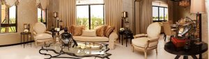 Ghiberti luxury house model living room | Luxury Homes by Brittany Corporation