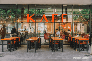 Kaff Coffee Shop in Sta Rosa Laguna near the beautiful mansions and luxury homes of Brittany Santa Rosa